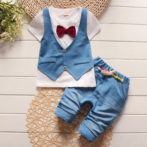 Roupa beb conjunto menino tipo jeans social festa for Beb it
