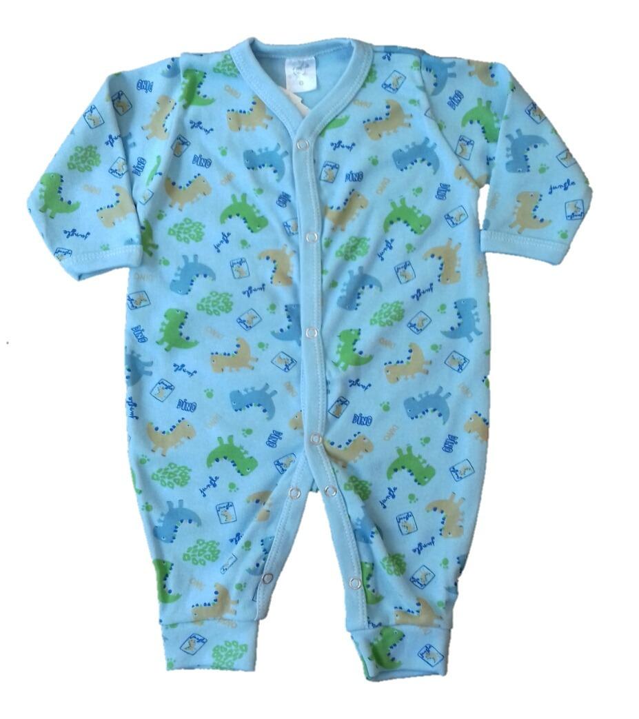 0784cf52f roupa bebê macacão dino manga longa menino pijama. Carregando zoom.