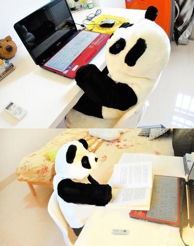 roupa bebê panda fantasia bichos animais macacão criança