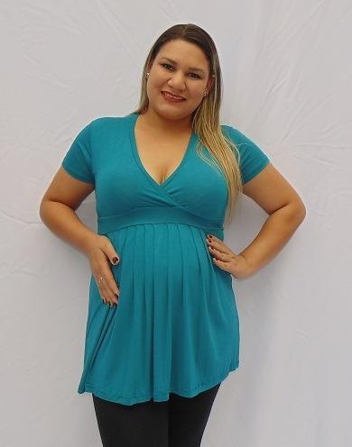 roupa blusa gestante bata amamentar  gravida m.kelly brinde