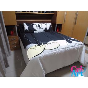 2834c0187e Edredom Mickey 9991609 Amlb 1609 1 Mmlb5990 Casal - Roupa de Cama no  Mercado Livre Brasil