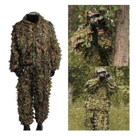 Roupa Camuflada Ghillie Suit 3d - Sniper Caça Javali Airsoft