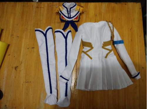 roupa cosplay satsuki dollfie dream bjd
