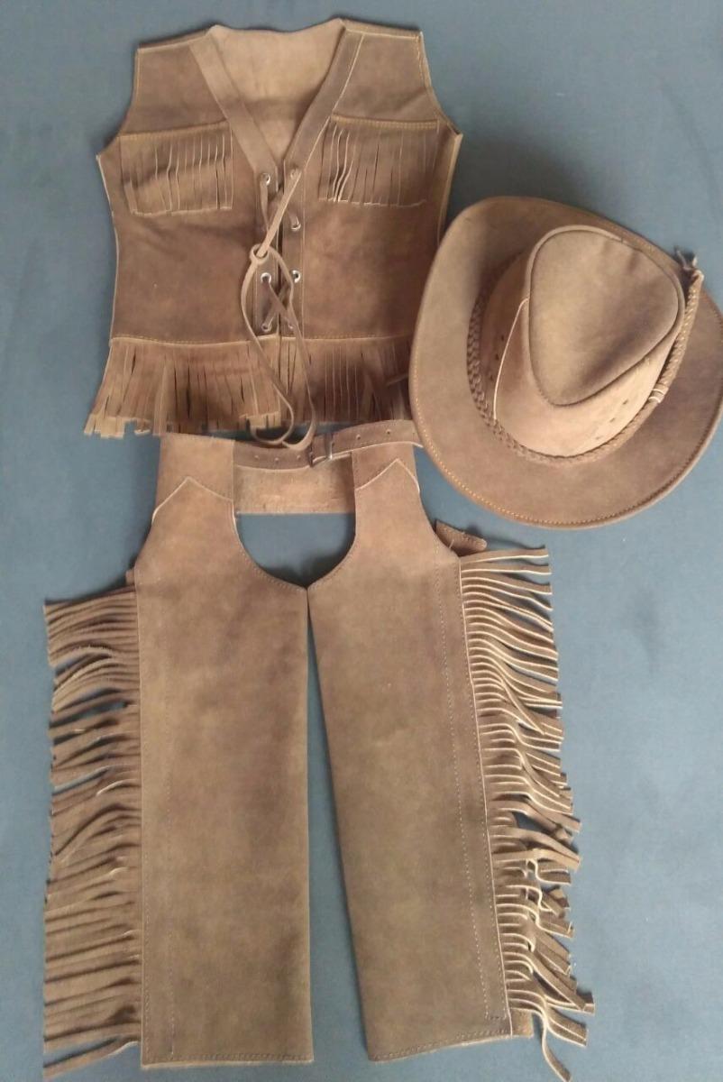 roupa country infantil menino menina colete+ chapéu + calça. Carregando  zoom. d7152b6453e