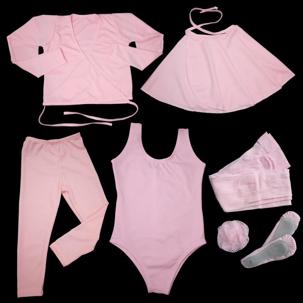 275d97bcc6 roupa de ballet balé bailarina infantil kit completo 7 peças. Carregando  zoom.