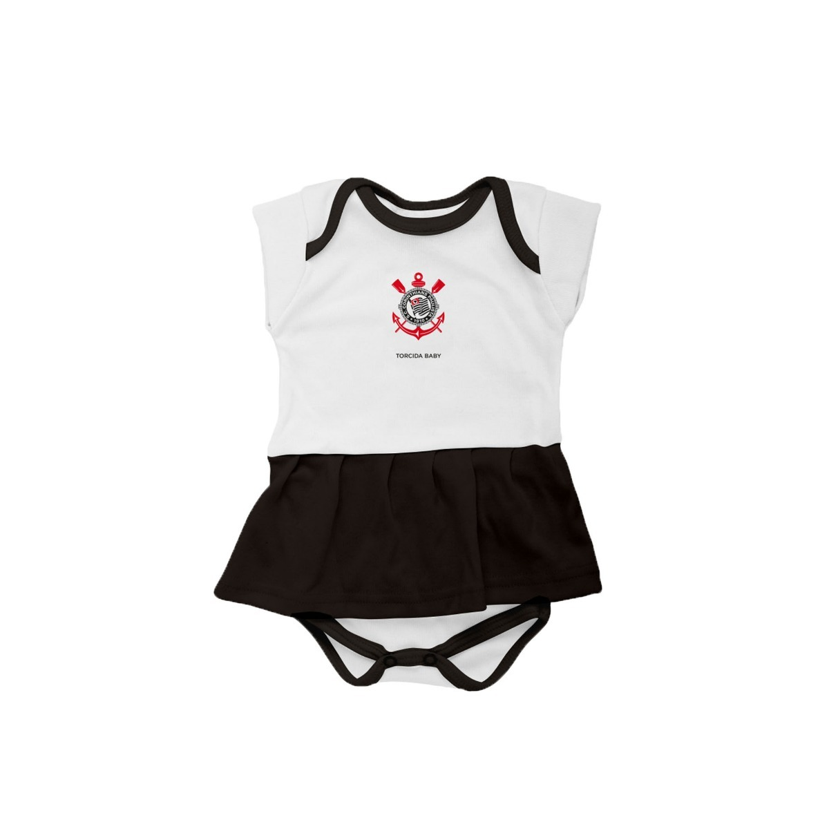 Características. Marca Torcida Baby  Modelo Body Saia Vasco da Gama RJ   Tipo de manga Curta ... d881e220a3851
