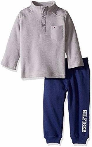 roupa de bebê - cj infantil inverno tommy hilfiger 2 pçs