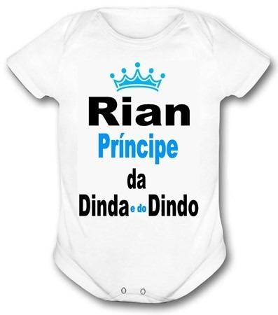 07f9e5e3d1 Roupa De Bebe Principe Da Dinda E Do Dindo Melhor Preço Baby - R  29 ...