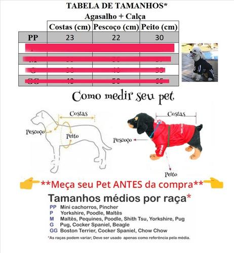 roupa de cachorro/ gato inverno frio moleton caninas