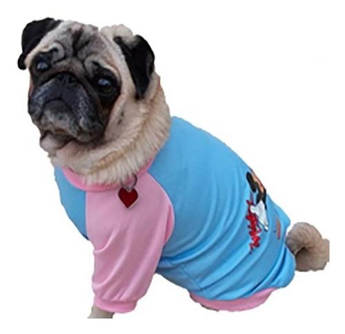 roupa de cachorro pequeno/ médio - estampa mickey