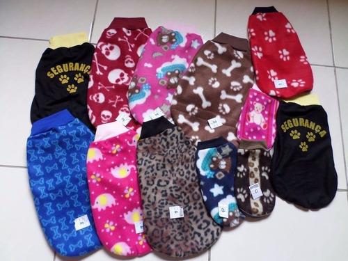 roupa de cachorro soft sueter 01 pçs pet shop caes/gatos