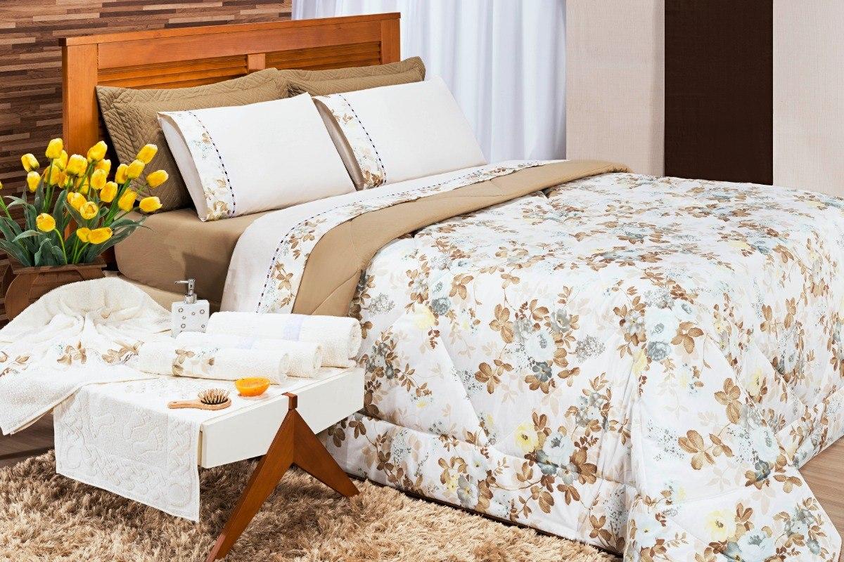 41aec05f1f roupa de cama completo edredom + lençol + jogo de toalhas. Carregando zoom.