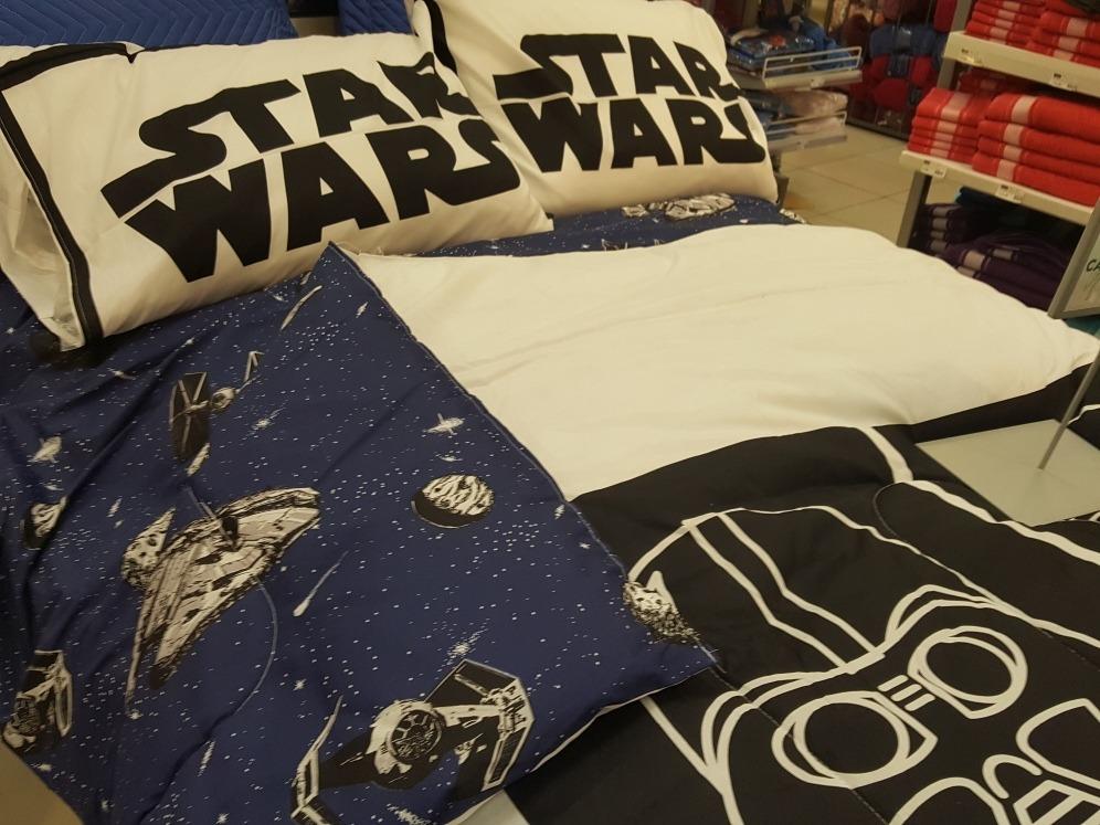 Roupa De Cama+ Edredom Casal Star Wars   R$ 600,00 em Mercado Livre