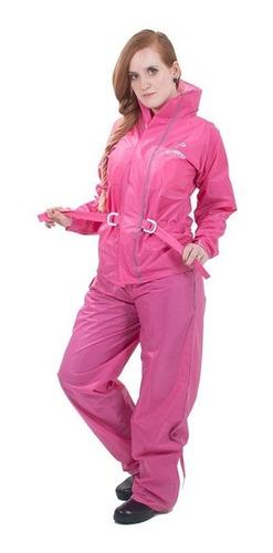 roupa de chuva motoqueiro feminina nylon pioneira