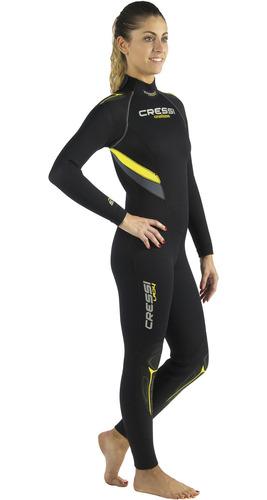 roupa de neoprene para mergulho cressi castoro lady 5.0