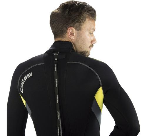 roupa de neoprene para mergulho cressi castoro man 5.0