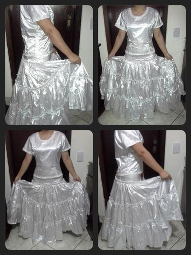 roupa de santo saia umbanda candomblé