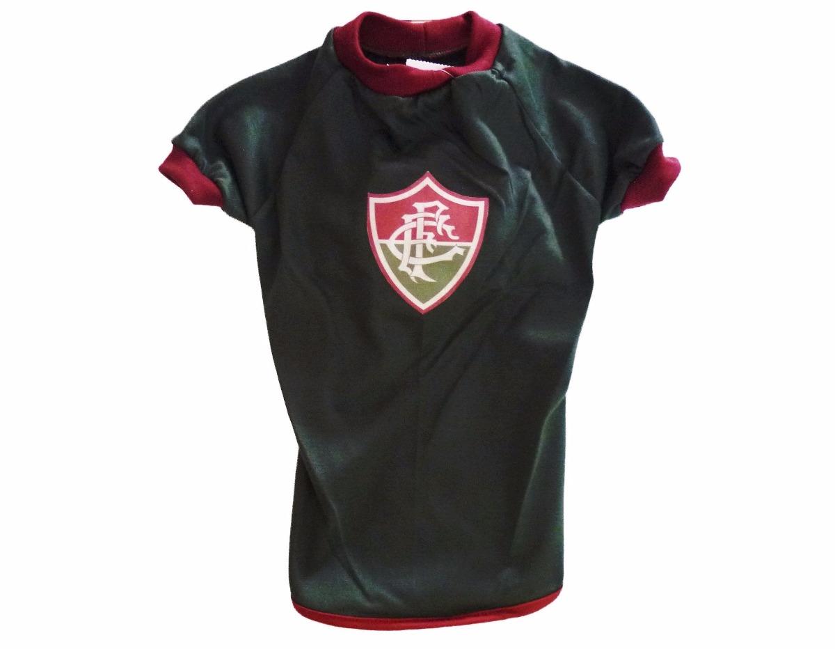 Roupa De Time Para Seu Pet - Camisa Do Fluminense Tamanho 6 ... ca9a20162f3a0
