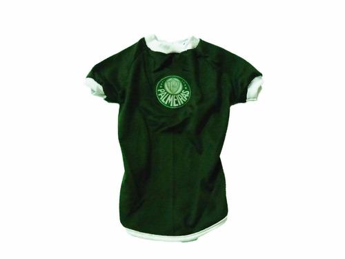 roupa de time para seu pet - camisa do palmeiras tamanho 6