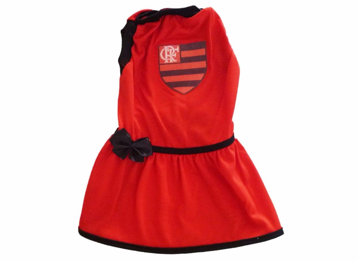 roupa de time para seu pet - vestido do flamengo tamanho 4. Carregando zoom. 9ff8a71b10afb