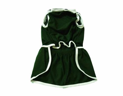 roupa de time para seu pet - vestido do palmeiras tamanho 4