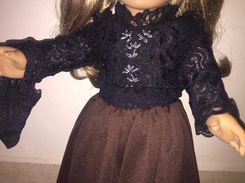 roupa dois em um american girl ou our generation