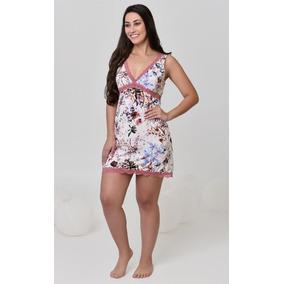 70b257744 Camisola Para Senhora Gg Pijamas Alagoas - Roupa de Dormir para ...