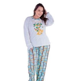 f96261d05 Kit Pijama Plus Size.feminina - Roupa de Dormir Pijamas para Feminino no  Mercado Livre Brasil