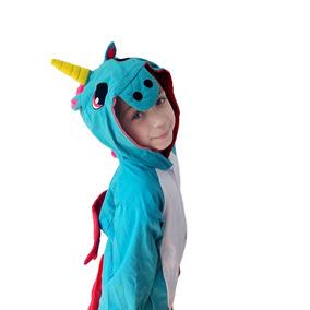 1aed2a772d Unicornio Pijama - Roupa de Dormir Pijamas para Feminino Azul aço em ...