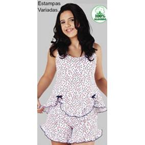 4f705d9e2a6abc Short Feminino Transparente Pijamas - Roupa de Dormir no Mercado ...