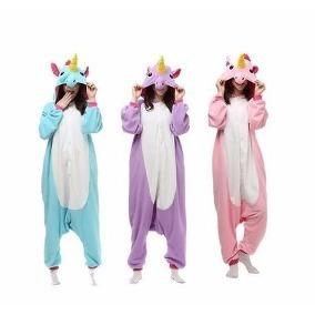 b32f742890c2a6 Pijama Macacao De Unicornio - Roupa de Dormir Pijamas para Feminino ...