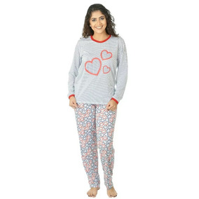 22a7eb0df4be48 Pijama Coração Sapeka Tamanho Gg - Roupa de Dormir para Feminino no ...