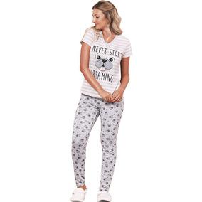 f516a53b8 Lunia Pijamas - Roupa de Dormir para Feminino no Mercado Livre Brasil