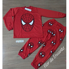 50aae544b Pijama Super Herois Masculino Pijamas - Roupa de Dormir para Meninos ...