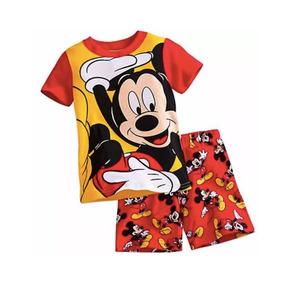 91b8076eb Roupa Mickey Infantil Menino Pijamas - Roupa de Dormir no Mercado ...