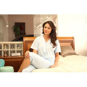 e919a076081d9f Pijama Feminino Capri Com Abertura Maternidade Gestante