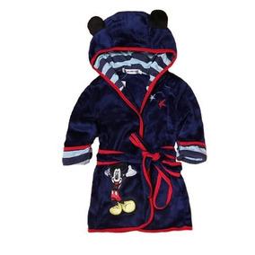 00e1dfa9f5 Roupão Infantil Pós Banho Menino - Mickey Azulão - 4 Anos