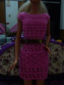 83c10d578579 Roupa Croche Barbie - Acessórios para Bonecas Roupas de Bonecas no Mercado  Livre Brasil