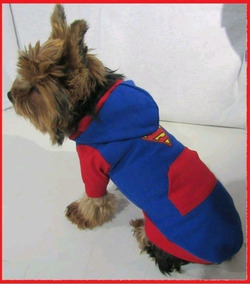 4c930f51ac Roupa E Coleira Pra Cachorro Moleton Superman Tam. P m g