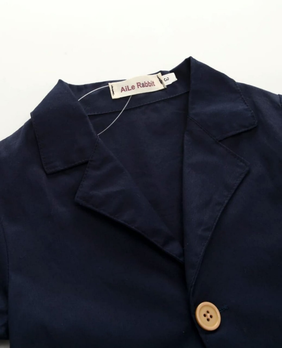 641874fcd8 roupa esporte fino infantil blazer azul menino do 1 a 7 anos. Carregando  zoom.
