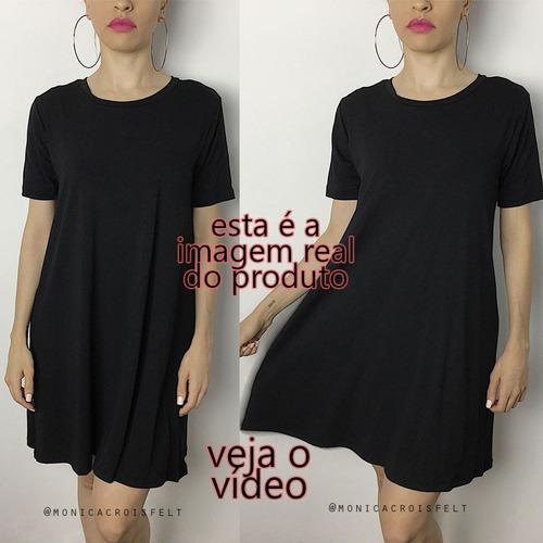 roupa estilo tumblr kit 2 vestido básico casual balada moda