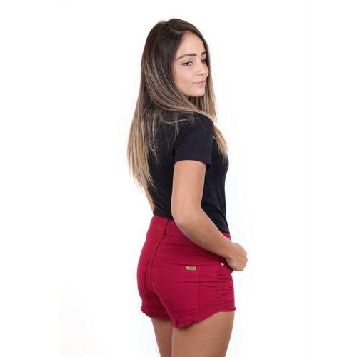 roupa feminina bermuda feminina sarja short feminino sarja
