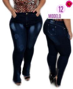 0eef46dfbb Roupas Do Esquadrao Da Moda - Calças Femininas Jean com o Melhores Preços  no Mercado Livre Brasil