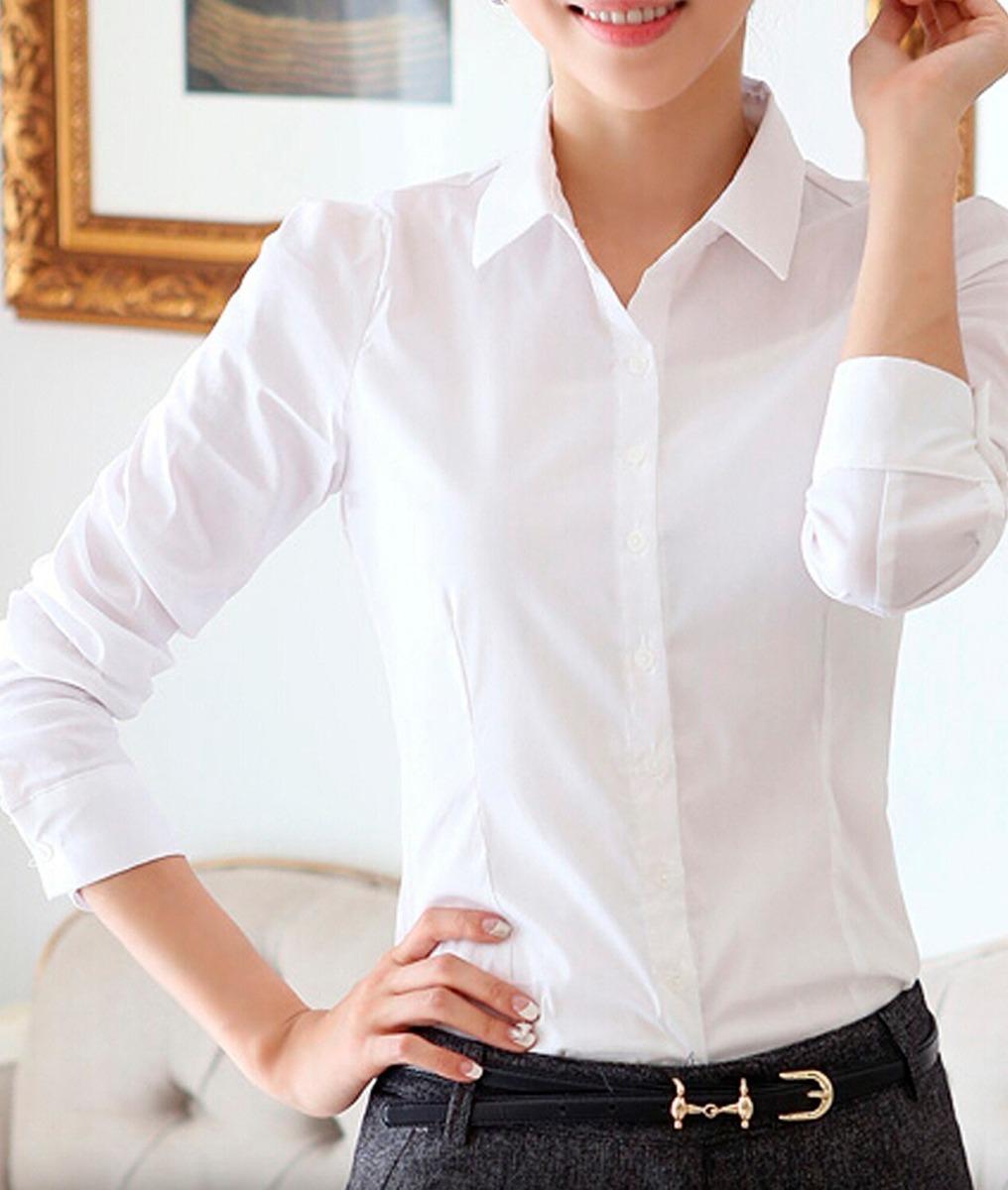 20ab61560 roupa feminina-camisete camisa social manga 3 4 kit100. Carregando zoom.