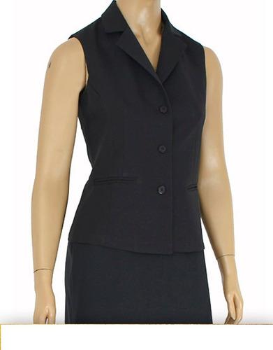 roupa feminina - colete social fashion premium kit40