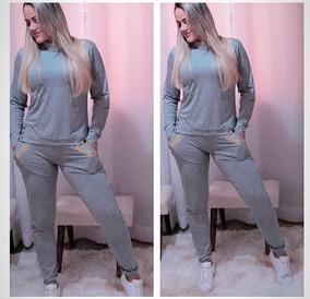 5b589a824 Conjunto Moletom Com Pedras Feminino - Calçados, Roupas e Bolsas com o  Melhores Preços no Mercado Livre Brasil