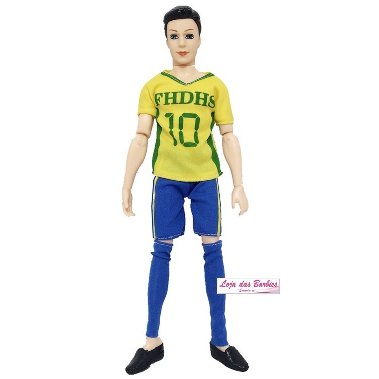 Roupa Futebol Para Boneco 1 6 Falcon Gi Joe Action Figure 41 - R  29 ... e8e16988c52f5