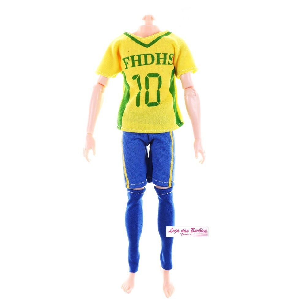 roupa futebol para boneco 1 6 falcon gi joe action figure 41. Carregando  zoom. bf5e0a38ec999