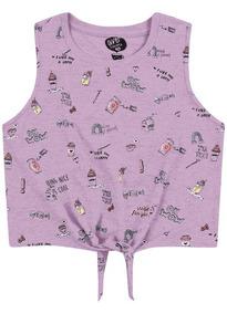 cbbdcfd6aee8 Camisetas e Blusas Cropped para Meninas con Mercado Envios no Mercado Livre  Brasil