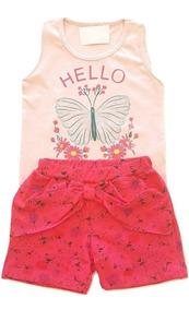 9fe660a0d22c Roupa Infantil Feminina Importada - Calçados, Roupas e Bolsas com o  Melhores Preços no Mercado Livre Brasil